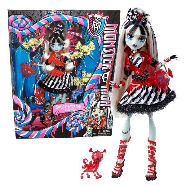 Monster High Sladká noční můra Frankie Stein