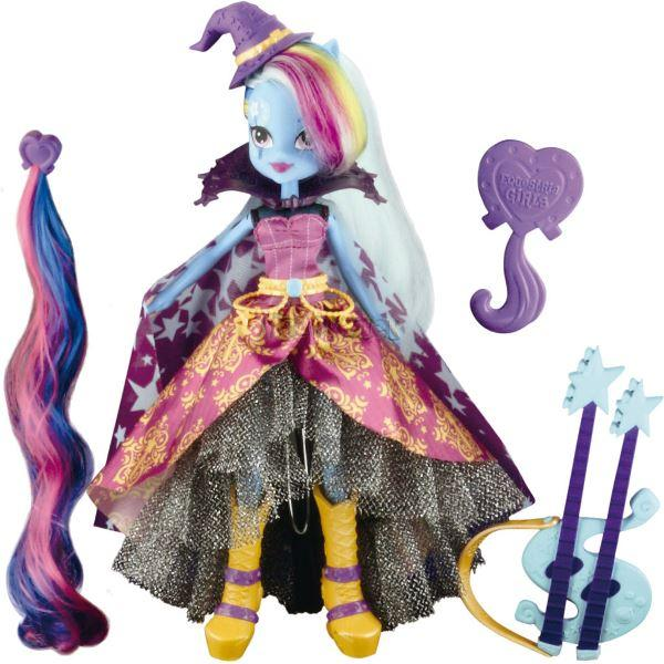 My Little Pony Equestria girls módní panenka - Trixie Lulamoon