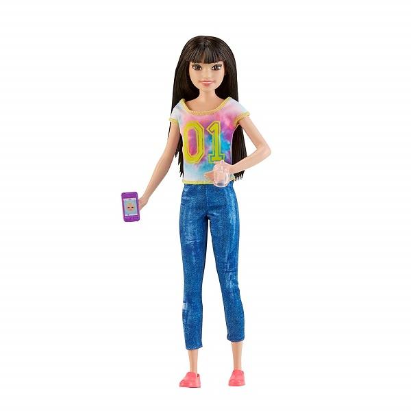 Panenka Barbie Chůva brunetka