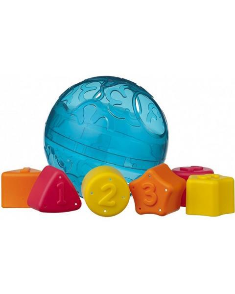 Playgro - Vkládací míček s tvary
