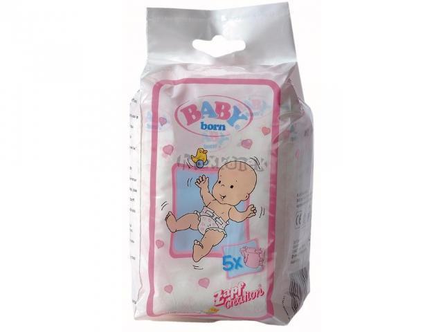 Plenky pro BABY BORN - 5 ks - Zapf Creation