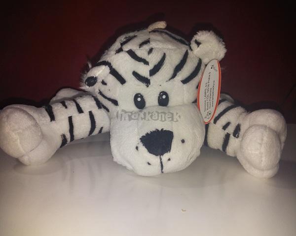 Plyšová hračka Safari - Bílý Tygr