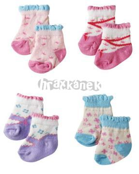 Ponožky na BABY BORN - panenka 43 cm od ZAPF Creation 801611