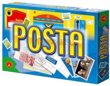 POŠTA stolní hra na poštu