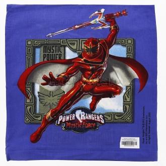 Povlak na polštář Power Rangers tmavě modrá Bavlna standard 40/40
