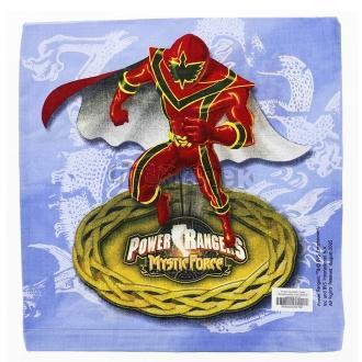 Povlak na polštář Power Rangers světle modrý Bavlna standard 40/40