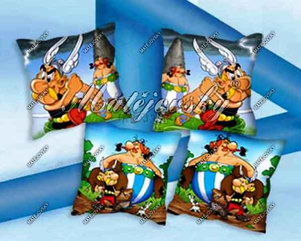 Povlečení na polštářek - povlak Asterix - Matějovský