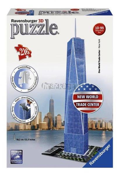 Puzzle 3D Trade Center
