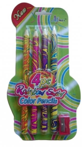 Sada silných tužek s barevnou náplní 4 ks
