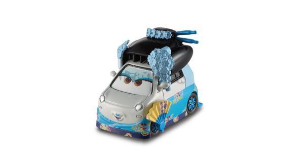 SHIGEKO - Filmová autíčka - CARS - Mattel