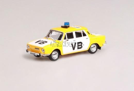 Škoda 110L (1973) 1:43 - Veřejná Bezpečnost - model ABREX
