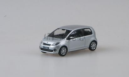 Škoda Citigo 3D Silver Brilliant Metallic - 1:43 - model ABREX