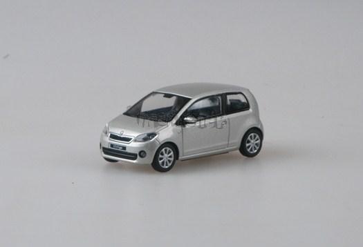 Škoda Citigo 3D Silver Leaf Met. - 1:43 - model ABREX