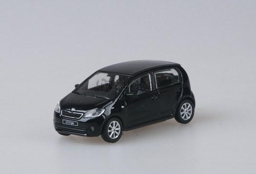 Škoda Citigo Deep Black Metallic - 1:43 - model ABREX