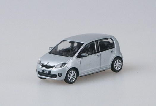 Škoda Citigo Silver Brilliant Metallic - 1:43 - model ABREX