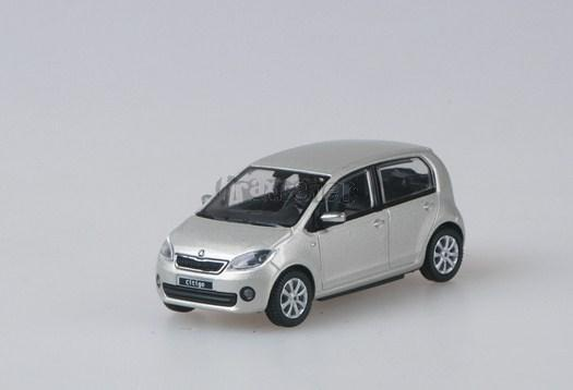 Škoda Citigo Silver Leaf Metallic  - 1:43 - model ABREX