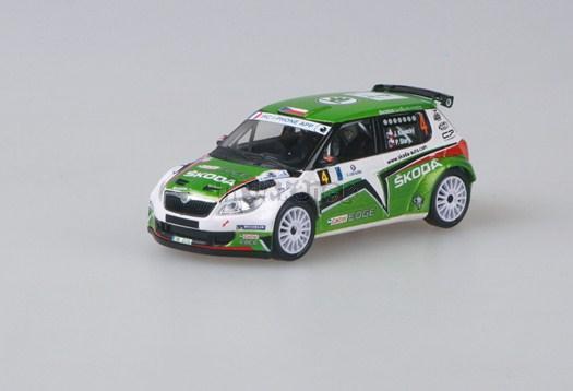 Škoda Fabia S2000 (FL 2010) - Tour de Corse 2011 No. 4 (Kopecký - Starý) 1:43 - model ABREX