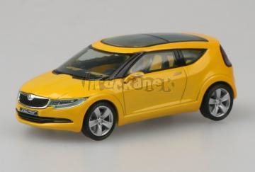 Škoda Joyster Concept Car - 1:43 - Žlutá metalíza model od ABREX