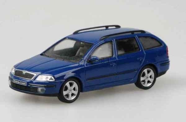 Škoda Octavia 2004 - Blue Dynamic - 1:43 - model ABREX