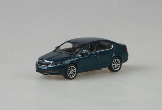 Škoda Octavia III Lava Blue Metallic 1:43 model ABREX