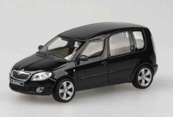 Škoda Roomster - 1:43 - Black Magic model od ABREX
