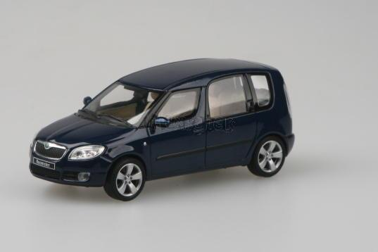 Škoda Roomster - Storm Blue Metallic - 1:43 - model ABREX