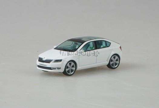 Škoda Vision D Concept Car White 1:43 model ABREX