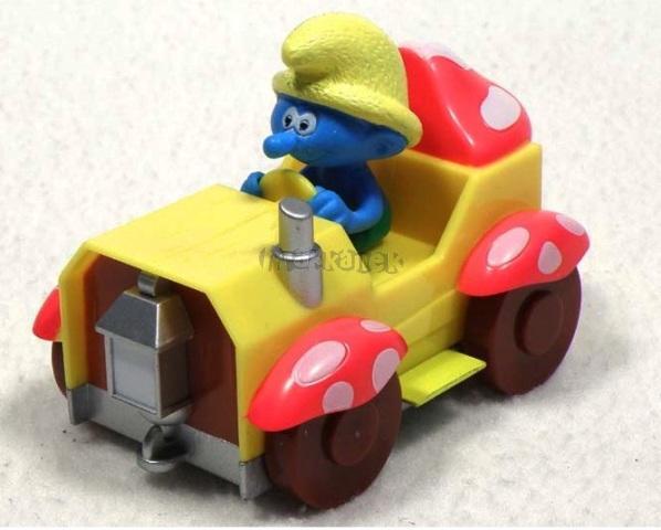 ŠMOULOVÉ - Vlňák v autě