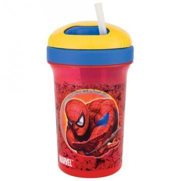SPIDERMAN - Pohárek s brčkem 450 ml od ZAK!