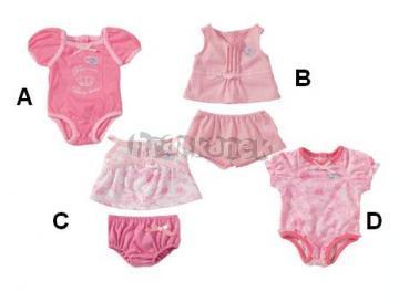 Spodní prádlo pro BABY BORN  - panenka 43 cm od ZAPF Creation 803264