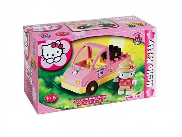 Stavebnice HELLO KITTY Mini set - SAFARI - ANDRONI