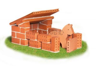 Teifoc Domek Horses - stáj - kreativní stavebnice