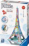 3D puzzle Ravensburger - Eiffelova věž Tula Moon