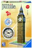 3D puzzle Ravensburger Big Ben s hodinami 216 dílků