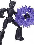 AVENGERS FIGURKA BEND AND FLEX - Black Panther