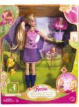 Barbie a květina s vílou Thumbelinou panenka od Mattel P6314