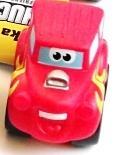 CHUCK mini pogumovaná autíčka Tonka červený