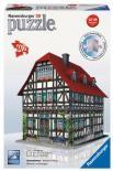 Puzzle 3D Středověký dům 216d