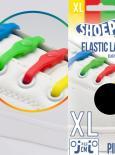 SHOEPS Silikonové tkaničky MIX XL