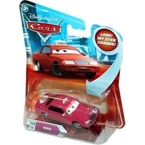VERN TAXI č.119 - Filmová autíčka měnící pohled - CARS - Mattel R1344 - R6574