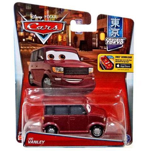 VIC VANLEY - Filmová autíčka - CARS - Mattel