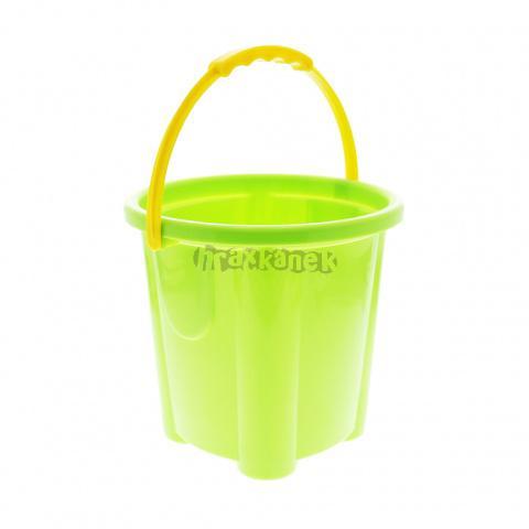 Zelený kbelík 18 cm